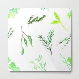 Herbaceous Metal Print