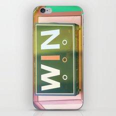 Win  iPhone & iPod Skin