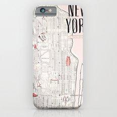 Kate Spade - New York Map iPhone 6 Slim Case
