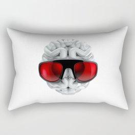 Keep a Cool Mind Rectangular Pillow