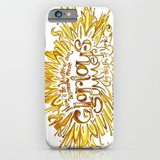 Glorious Summer of York - Richard III Quote Art  Slim Case iPhone 6s