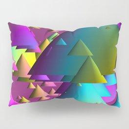 cones over violet Pillow Sham