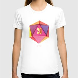 Rolling D20's Like A Big Shot  T-shirt