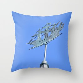Jolly Roger Throw Pillow