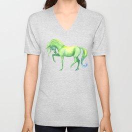 Emerald Horse Unisex V-Neck