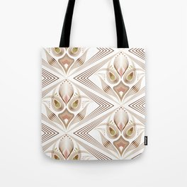 "Art Deco 39. "" Flo  "". Tote Bag"