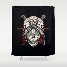 Firefly 57th Brigade Mal's Independents Brigade Shower Curtain