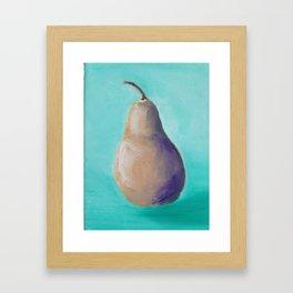 Oh Pear! Framed Art Print