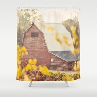 farm Shower Curtains featuring The Farm by Jessica Torres Photography