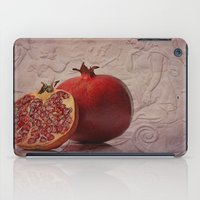 pomegranate iPad Cases featuring pomegranate by lucyliu