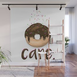Donut Care Wall Mural