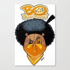 Bo: Plushy Gangsta Canvas Print