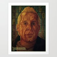 fargo Art Prints featuring Fargo by David Amblard