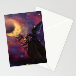 Stairs to the Moon Stationery Cards