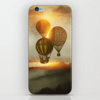 matty healy iPhone & iPod Skins featuring A Trip down the Sunset by Viviana Gonzalez
