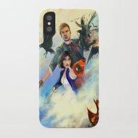 bioshock infinite iPhone & iPod Cases featuring Bioshock Infinite by Alba Palacio