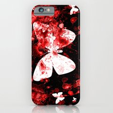 Butterfly Splatter Slim Case iPhone 6s