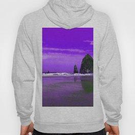 Oregon Coast Abstract Hoody