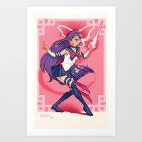 Xailor Psylocke Art Print