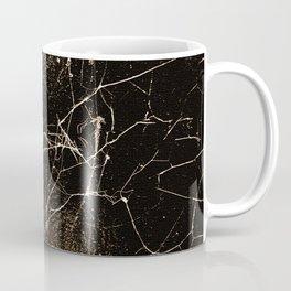 Spider Web Print Grunge Dark Texture Coffee Mug