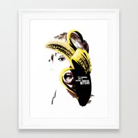 miley cyrus Framed Art Prints featuring Miley Cyrus  by franziskooo
