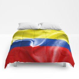 Colombian Flag Comforters