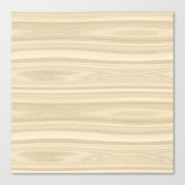 Maple Wood Texture Canvas Print