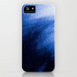 Indefinite Blue iPhone Case