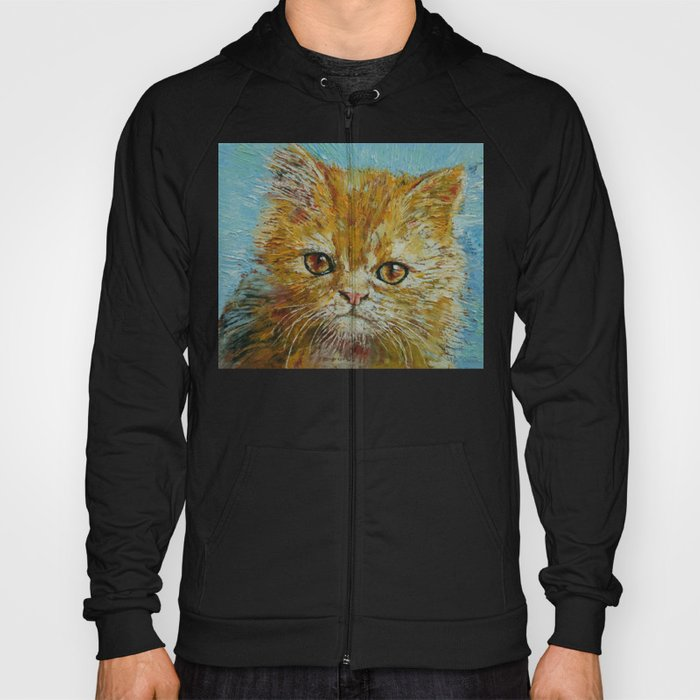 Van Gogh the Kitten Hoody