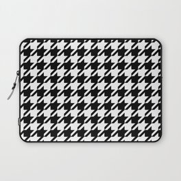 Black and white Alabama pattern university of alabama crimson tide college Laptop Sleeve