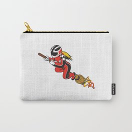 Broomstick Speeding Racing  Carry-All Pouch