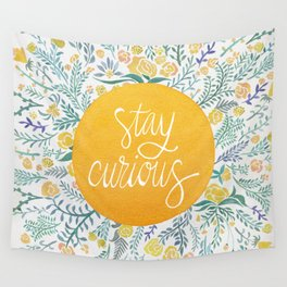 Stay Curious Wall Tapestry