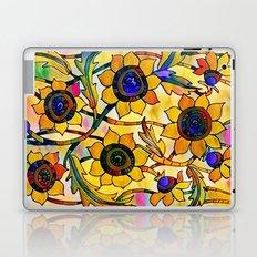 Sunny Sunflowers Laptop & iPad Skin