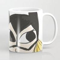 batgirl Mugs featuring Batgirl by Thatseelyah