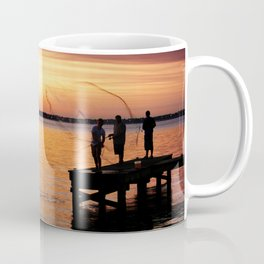Casting Wide Coffee Mug