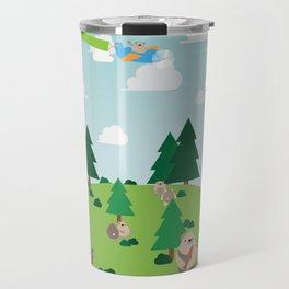 Bear Party Travel Mug