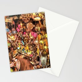 Lanterns, Lamps and Lighting of The Bazaar Stationery Cards