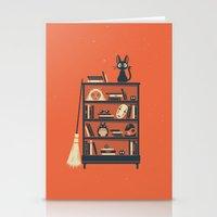 miyazaki Stationery Cards featuring Ghibli Shelf // Miyazaki by Daniel Mackey