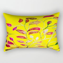 Red and Green Leaves! Yellow Sunshine! Rectangular Pillow