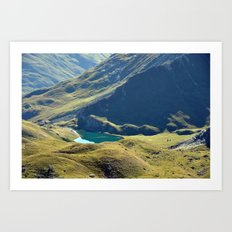 Among The Slopes Art Print