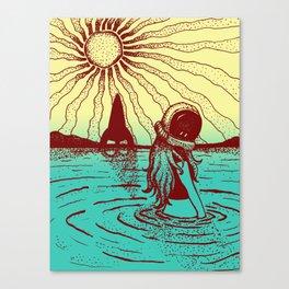 Astro Girl #1 Canvas Print