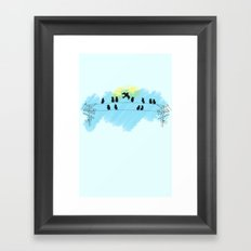 Pájaro Framed Art Print