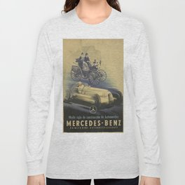 Vintage poster - Car ad Long Sleeve T-shirt
