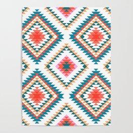 Aztec Rug 2 Poster