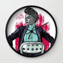 Janelle Wall Clock