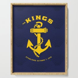 The Kings Anchor Serving Tray
