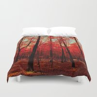 true blood Duvet Covers featuring True North by bomobob