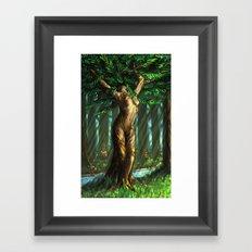 Daphne's Metamorphosis Framed Art Print