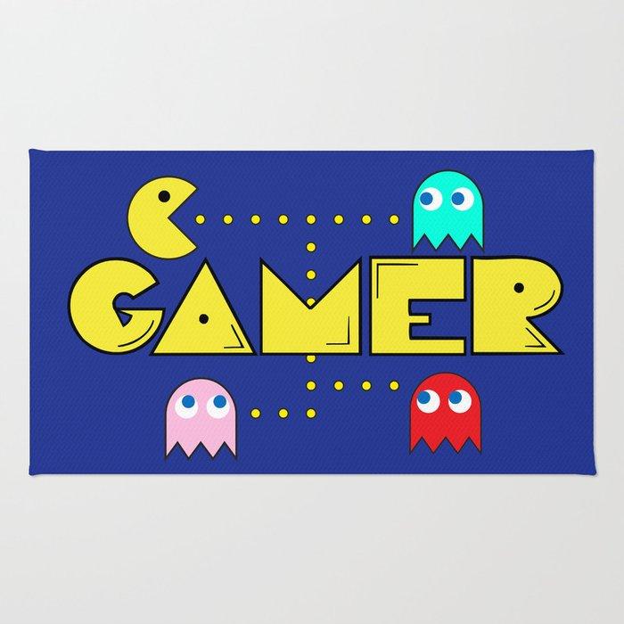 Classic Gamer: Pacman Rug