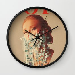 Growing Hope Wall Clock